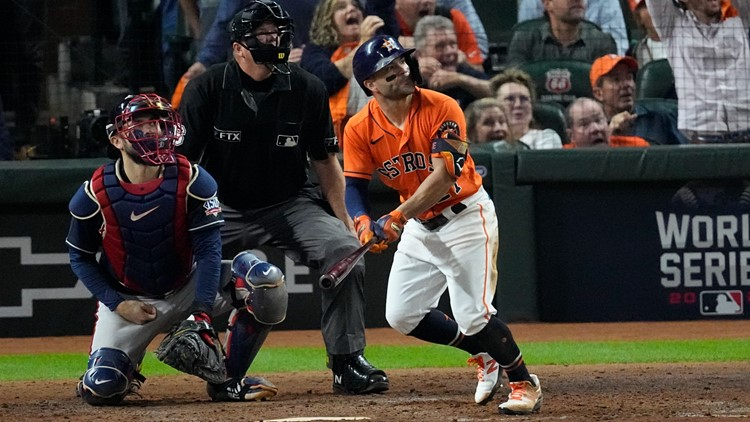 Only one player in MLB history has more postseason home runs than Jose Altuve