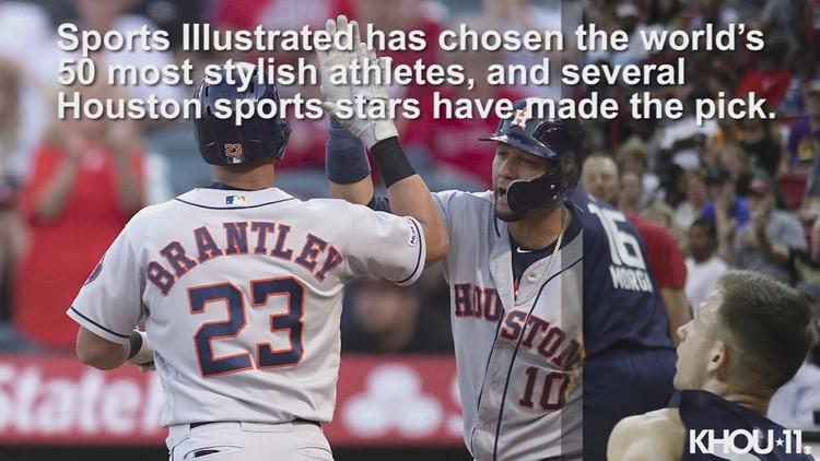 Houston Athletes make the Sports Illustrated Fashionable 50 list