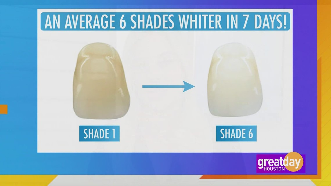 Get whiter teeth in just minutes