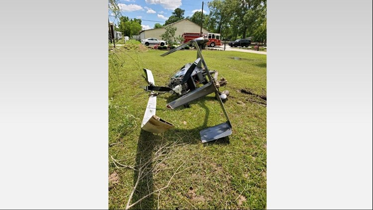 Helicopter crashes in Montgomery County