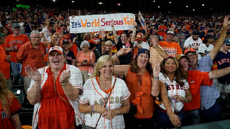 Astros hosting 24-hour celebration outside Minute Maid Park today | Schedule of events