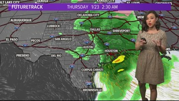 Houston Forecast: Another cold night, heavy rain possible midweek