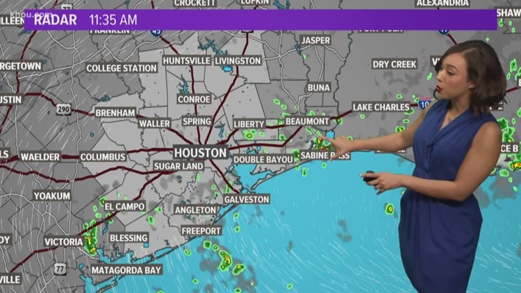 Houston Forecast: Tracking a tropical wave moving into the Gulf of Mexico