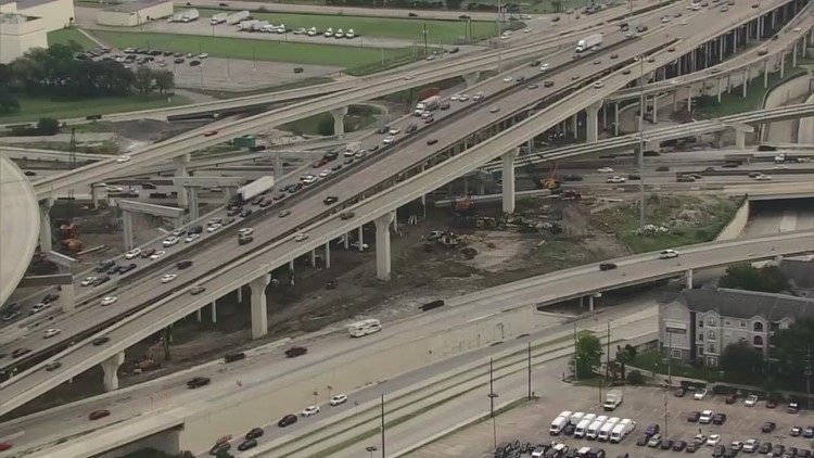 Here's why you may want to avoid the Southwest Freeway at West Loop this weekend