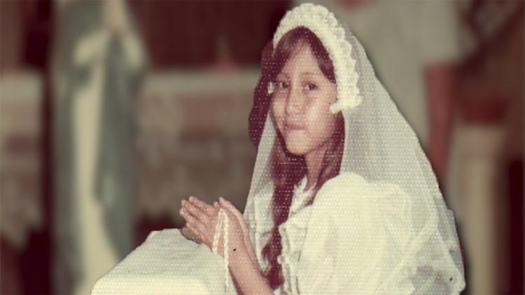 Monica Deanda Baez during First Communion