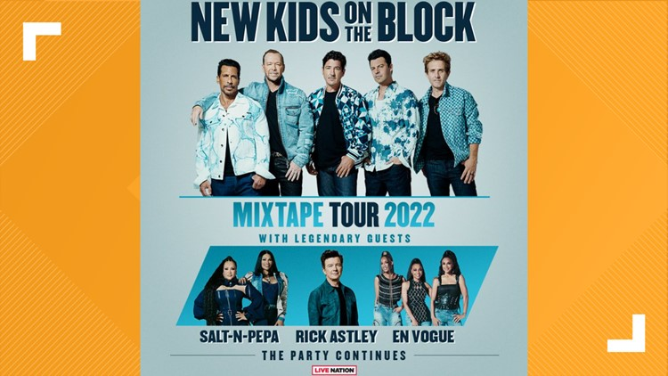 New Kids On The Block, Salt-N-Pepa and more coming to Houston for 'The Mixtape Tour 2022'