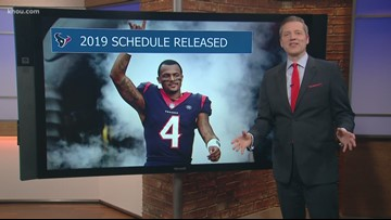 Houston Texans 2019 schedule: Which game are you most excited about?