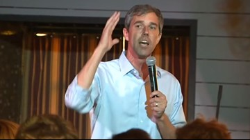 Beto O'Rourke brings campaign to intimate setting in west Houston