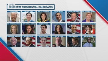 Who are the 18 democrats running for president in 2020?