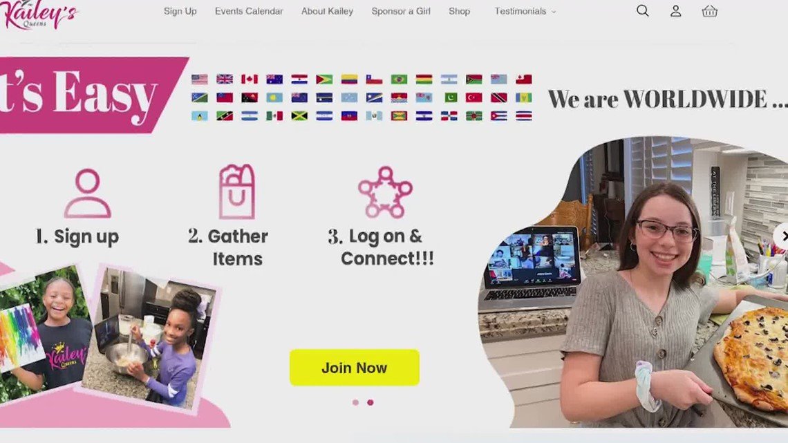 Kailey's Queens empowers girls through online community ...