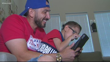 Houston dad celebrates son with special needs every day