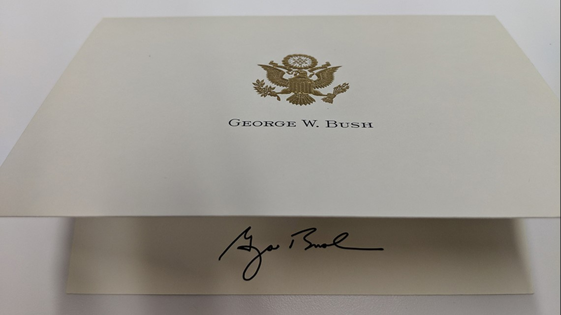 Bush Family Sends Thank You For Your Sweet Messages Khou Com