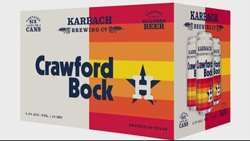 Astros, Karbach team up for Crawford Bock beer