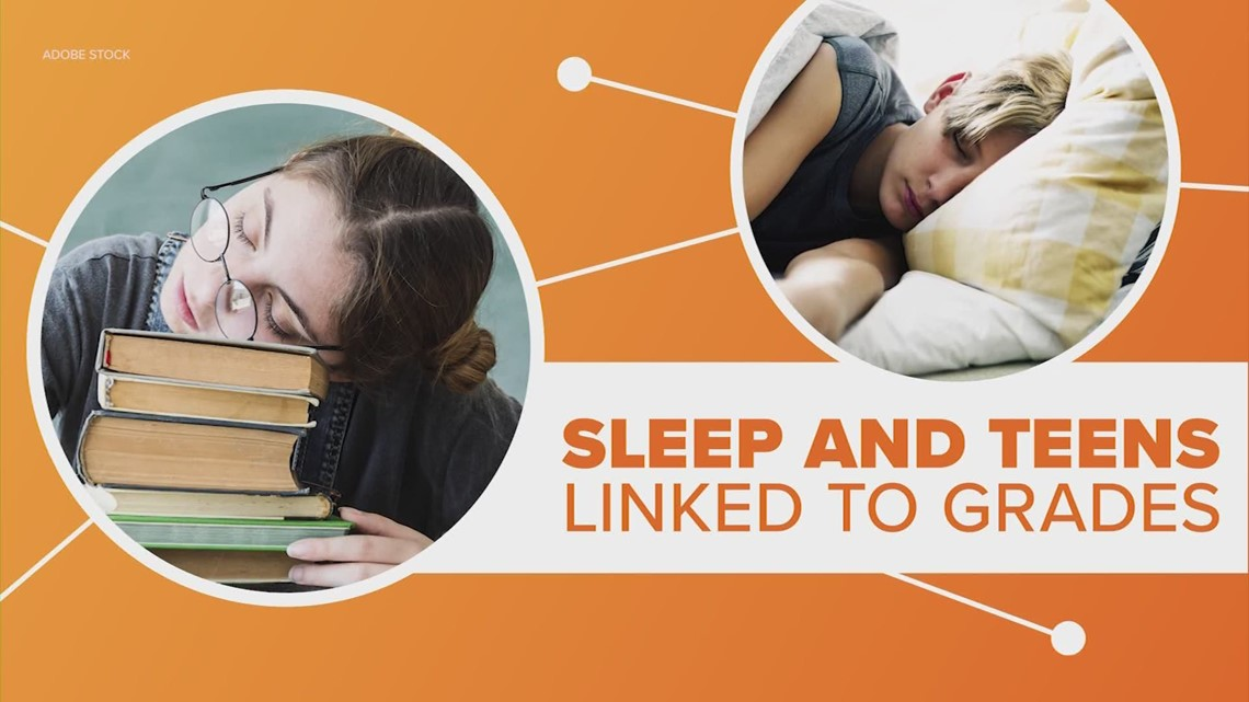 Connect the Dots: Teens who struggle to sleep suffer in school