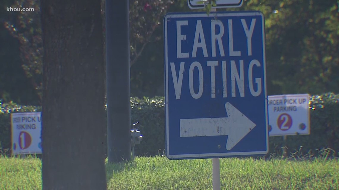 Guide to early voting in the November 2 Texas elections