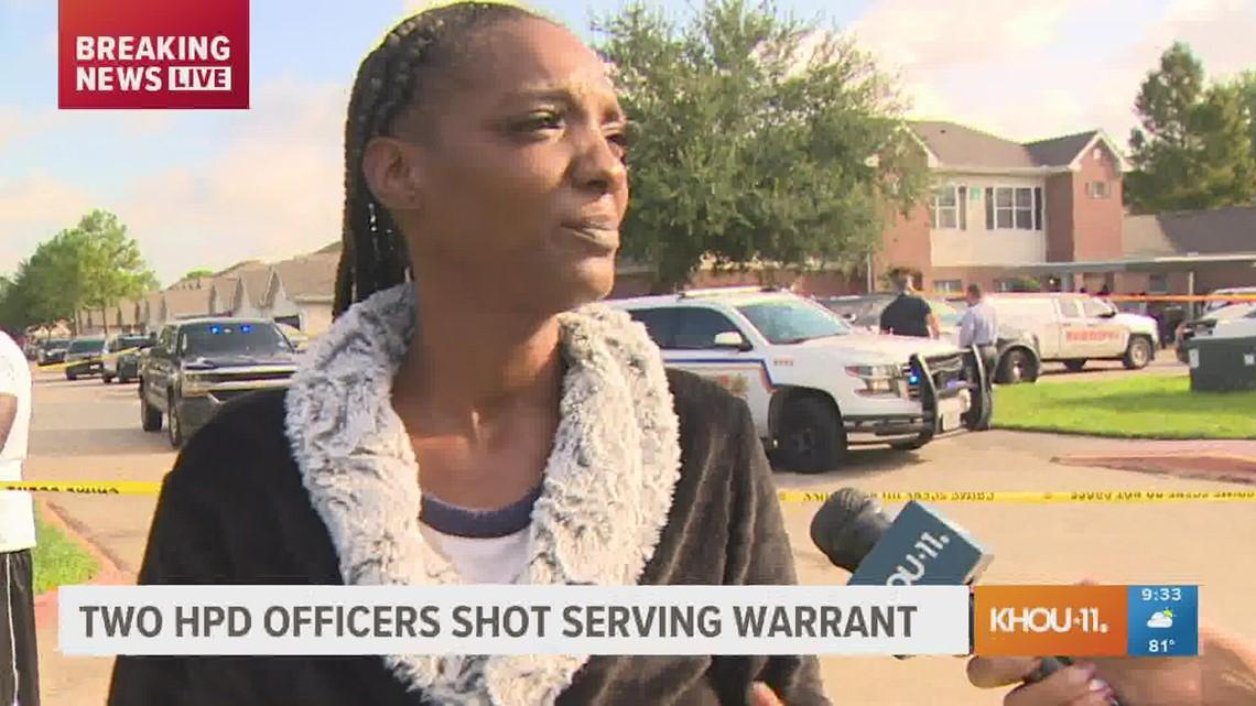 'Gunpowder was everywhere' | Resident recalls shooting that left 2 officers injured, suspect dead