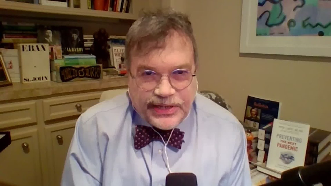 Dr. Peter Hotez targeted by anti-vaxx hate mail