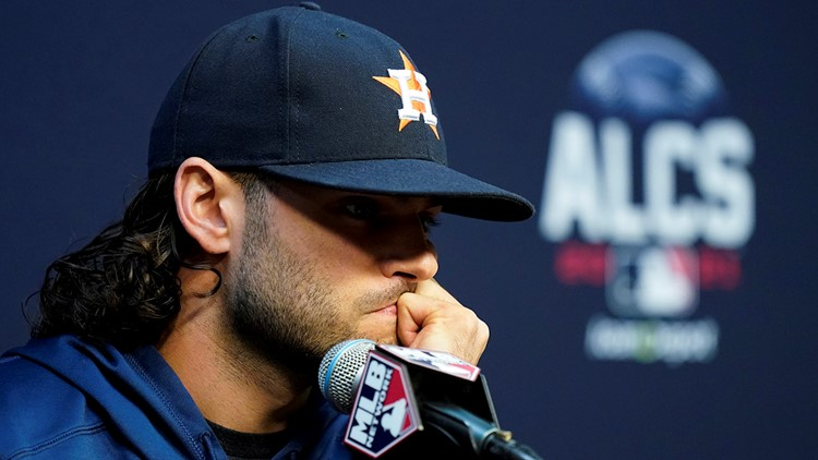 Lance McCullers Jr. won't pitch for Astros in World Series