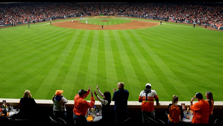 Astros to allow limited number of fans for 2021 games