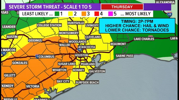 khou spc outlook day 2