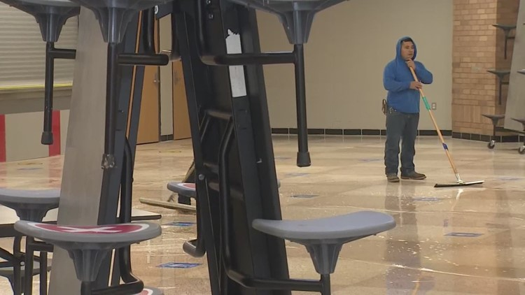 School employees grateful for delayed starts after winter storm
