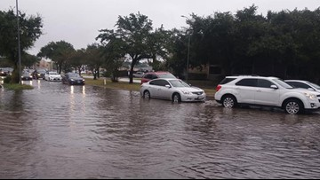 LIST: High water locations on major roads in the Houston area