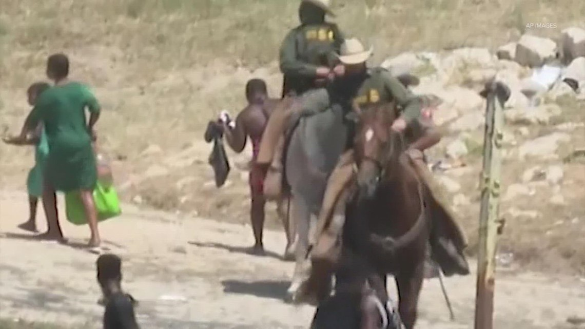 Images of border agents on horseback at Mexico-Texas border have drawn rebuke — here's why