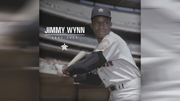 "Astros legend Jimmy ""Toy Cannon"" Wynn dead at 78"