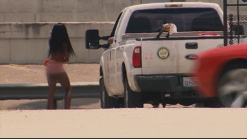 Caught on camera: Public Works employee visits prostitution hotspot on city time