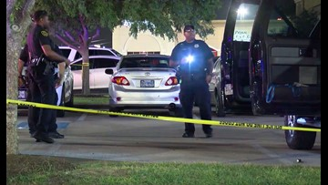 HPD: Off-duty deputy rushed to get his gun before car burglars could; nine shots fired