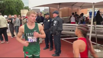 Strake Jesuit's Matthew Boling appears at state track meet in Austin