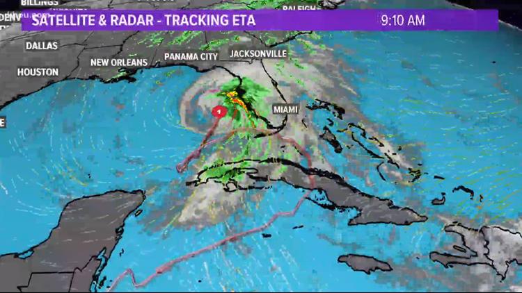 Hurricane Eta triggers Storm Surge Warning for west Florida coast