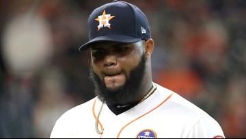 Astros pitcher Francis Martes suspended for 162 games after positive PED test