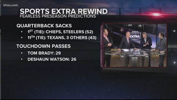Sports Extra rewind: Looking back at fearless predictions for Texans 2018 season