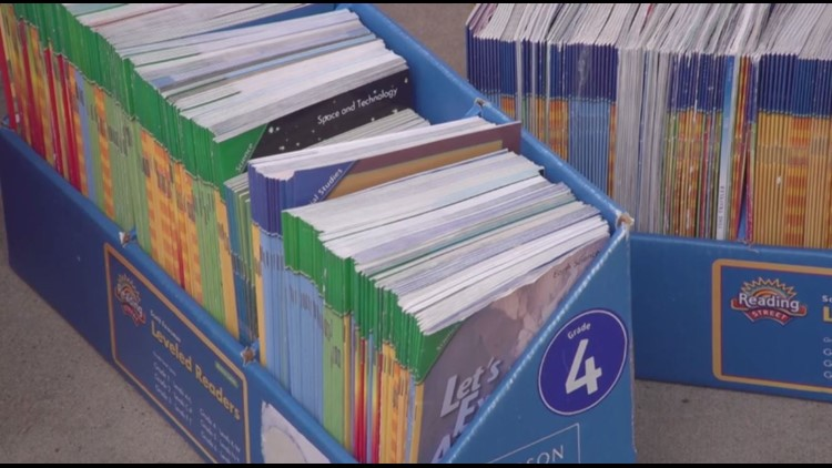 100,000 children's books donated to HISD by Barbara Bush Literacy Foundation