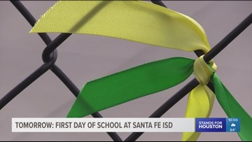 First day of school at Santa Fe ISD is a step forward after deadly shooting