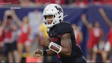 UH QB D'Eriq King announces he's transferring