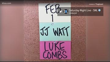 Texans' J.J. Watt to host Saturday Night Live
