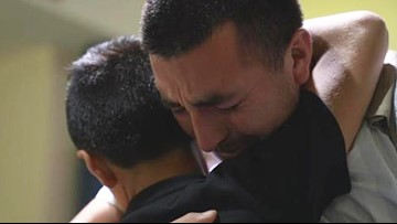 Father and son separated at the border reunite after 326 days