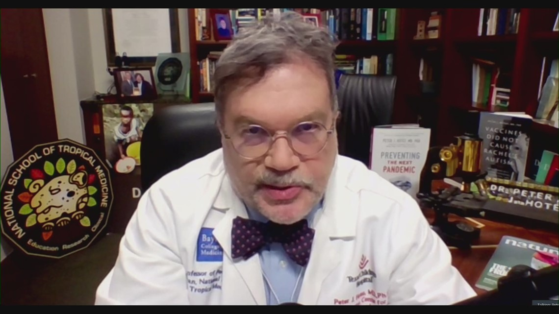 Dr. Peter Hotez on new Delta COVID variant
