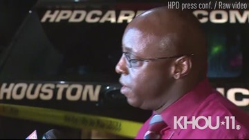 Raw: Houston police discuss fatal shooting of older teen outside home in east Houston
