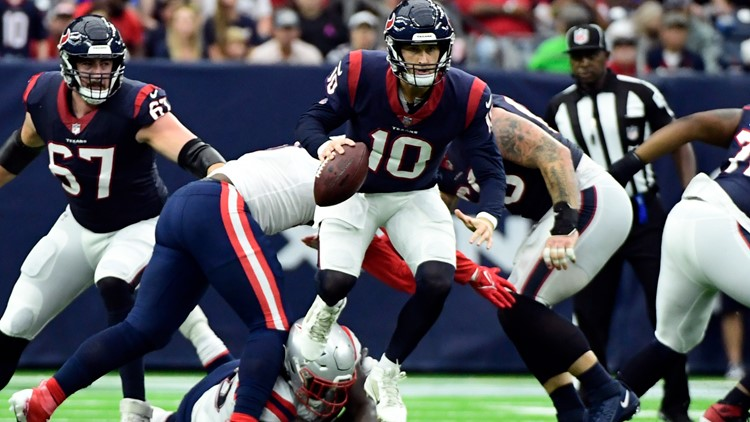 Patriots use late field goal to get 25-22 win over Texans