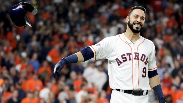 Marwin González returns to Houston Astros on minor league deal