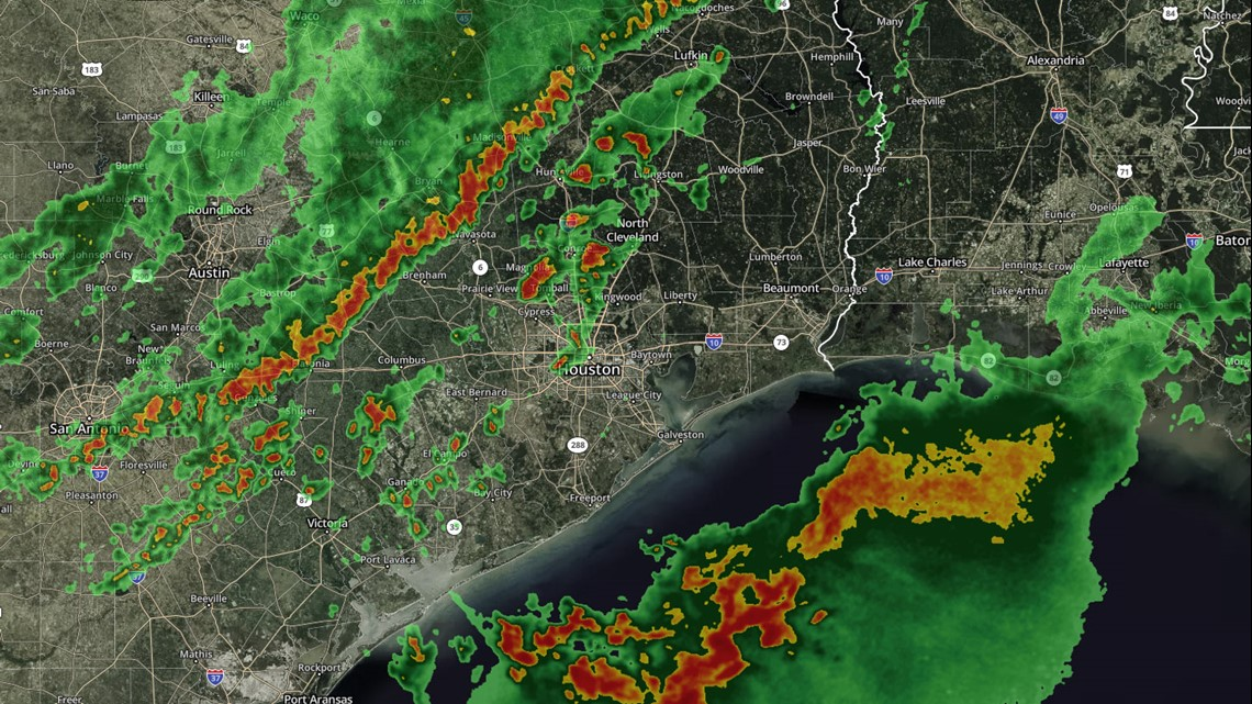 WATCH LIVE: Cold front brings strong storms during rush hour