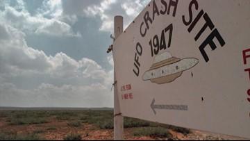 How did Area 51 conspiracy theories begin?