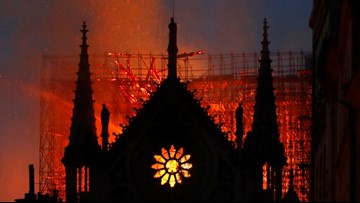 PHOTOS   Inside Notre Dame now that the fire is out