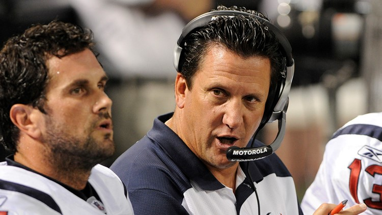 Former Texans QB coach Greg Knapp dies following bicycle accident