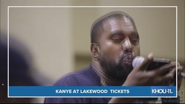 Lakewood warns against scalpers for Kanye West's Sunday Service tickets