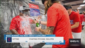 Sports Extra: What worries you most about Astros vs. Indians in ALDS?