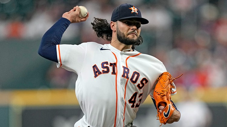 Astros ace Lance McCullers questionable for ALCS after MRI on forearm, team confirms